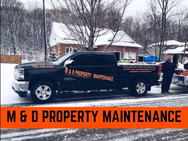 M & D Property Maintenance logo
