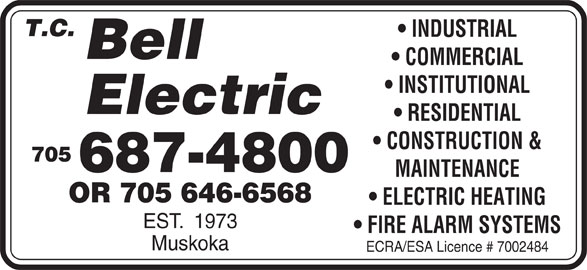 T C Bell Electric logo