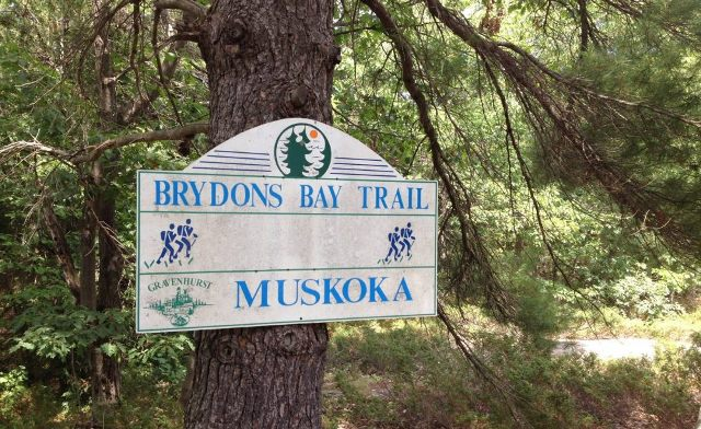 Brydons Bay Trail logo