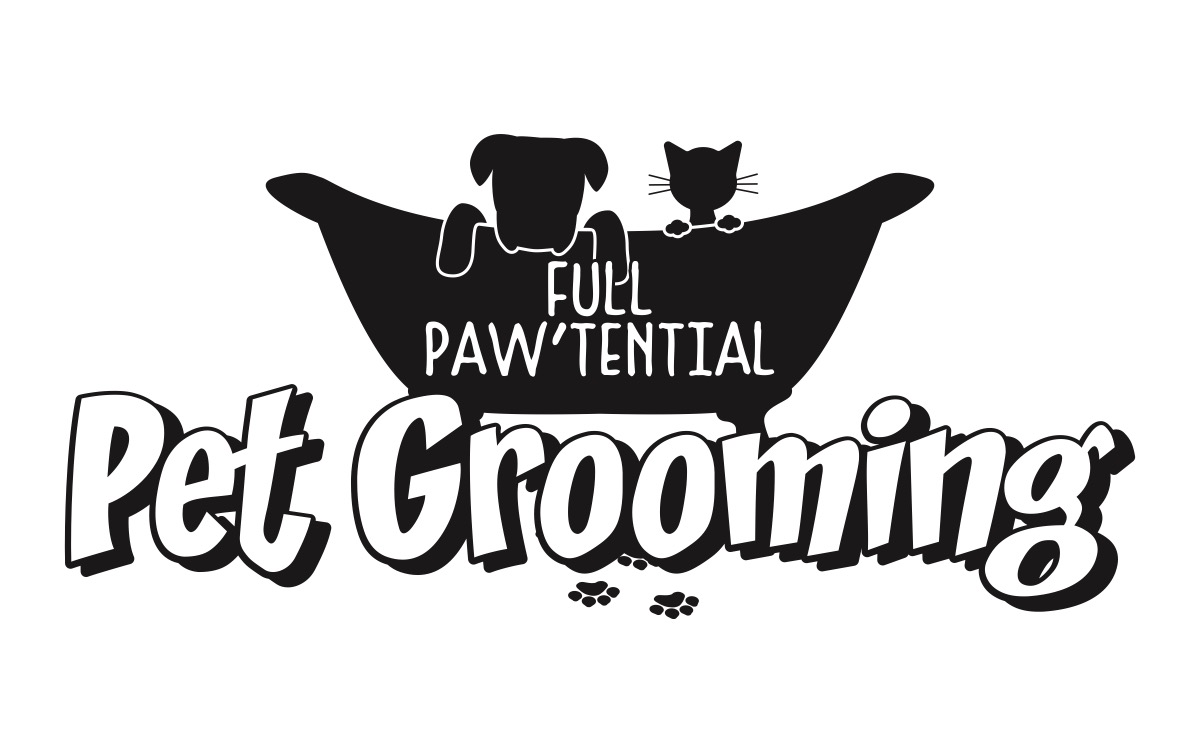 Full Paw'tential Pet Grooming logo