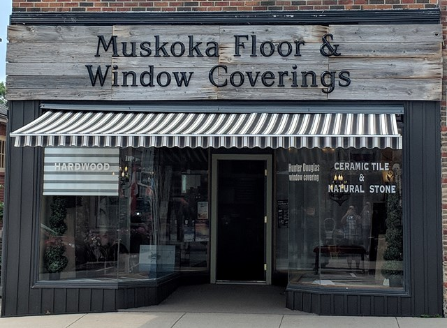 Muskoka Floor & Window Coverings logo