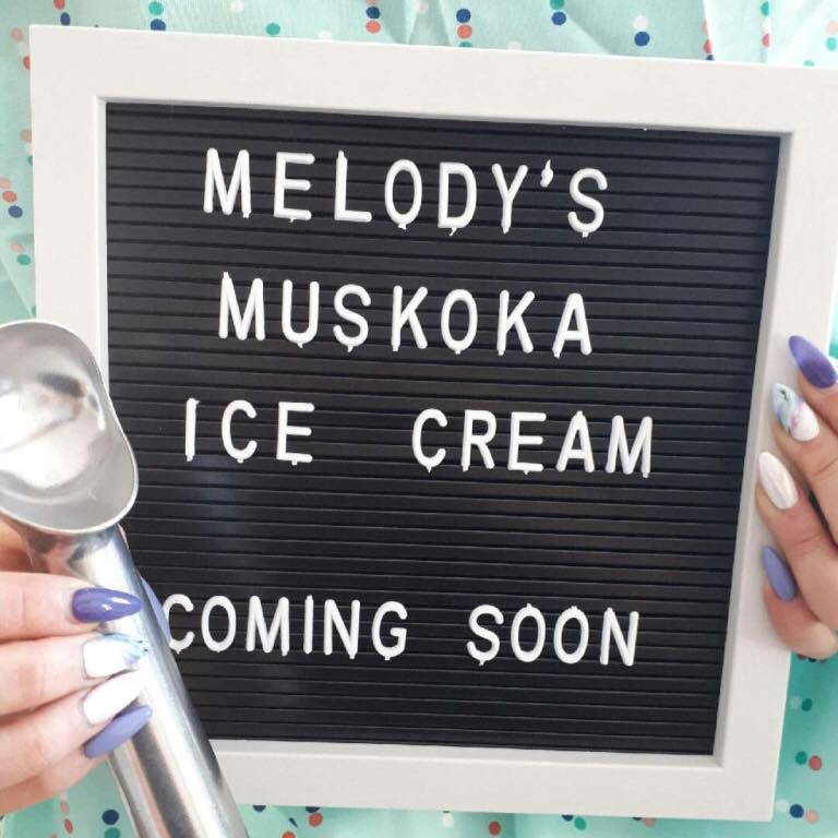 MELODY'S Muskoka Ice Cream  logo